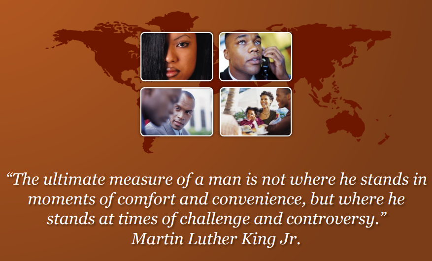 Senior Dems - Martin Luther King Quote