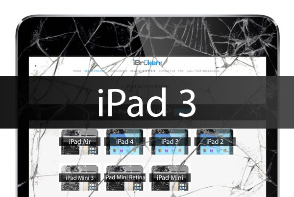ipad 3 screen repair calgary
