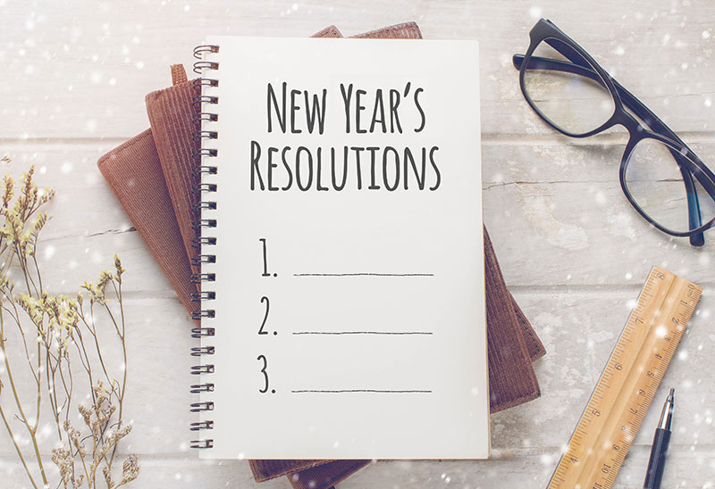 New Year's Dental Resolutions: Five Basic Resolutions