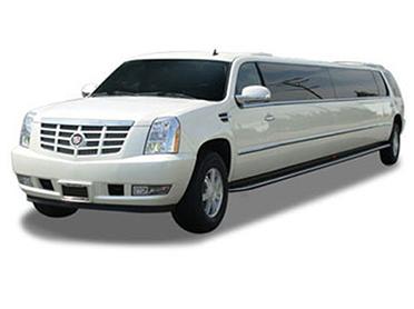 White Cadillac Escalade in Dublin