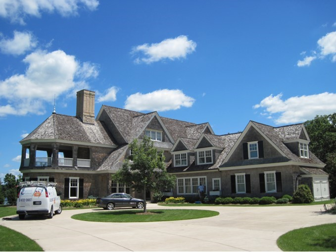 Large home exterior