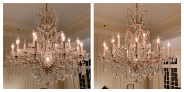 We can make your chandeliers sparkle again.