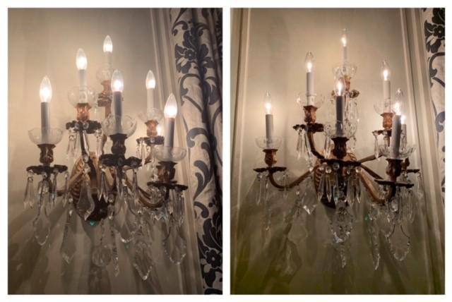 We clean chandeliers too!