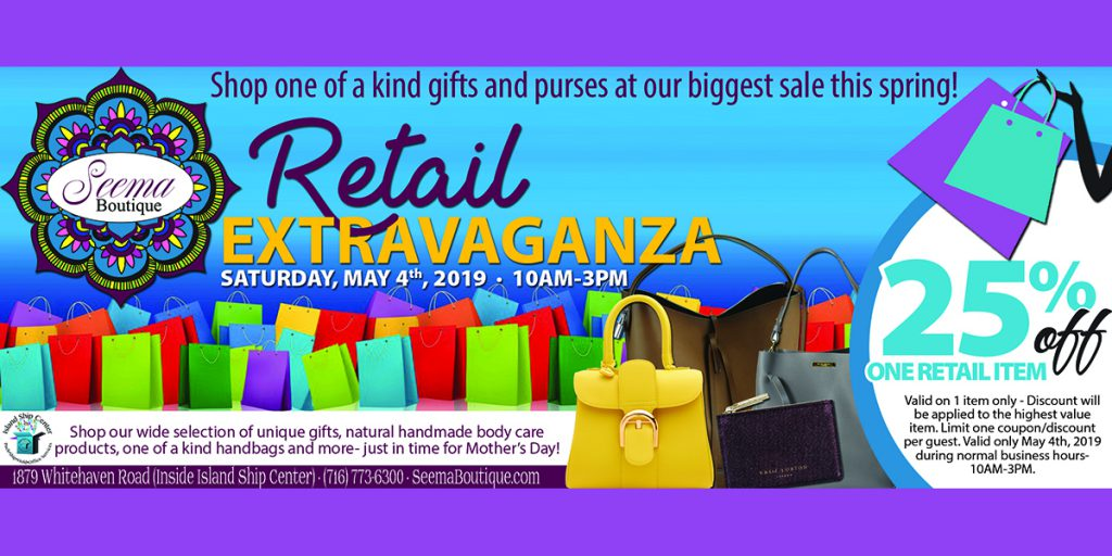 You're Invited On May 4th for Our Retail Extravaganza – Mother's Day Event