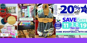 Our Small Business Saturday Sale is Set for Nov 30th – Please Join in the Fun!
