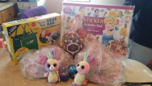 Easter Basket 2015 - packed and shipped cross country