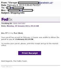 FedEx-scam-email alert