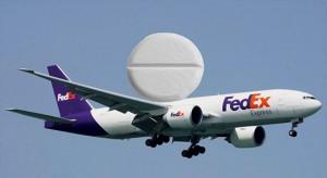 FedEx Plane Carrying medication