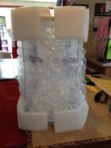 How to Pack Image with bubble wrap 2015