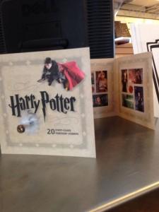 Harry Potter Forever Stamps