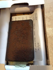 Bible carried in WWII, then in Vietnam, then packed and shipped to original owner's granddaughter in Las Vegas