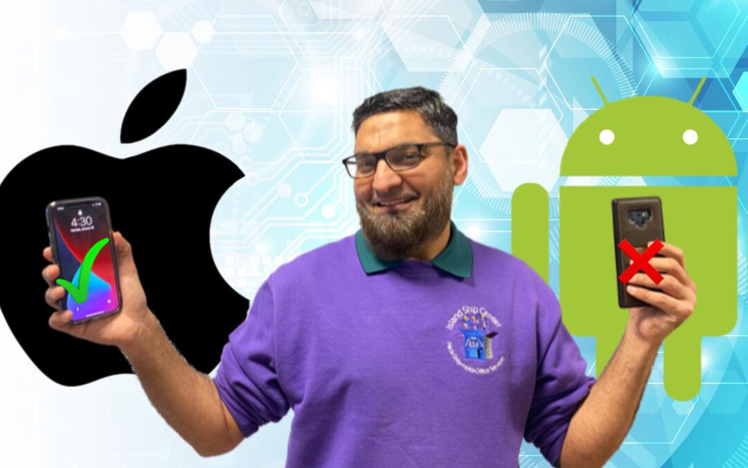 Fahim Finally Has An iPhone For Work!