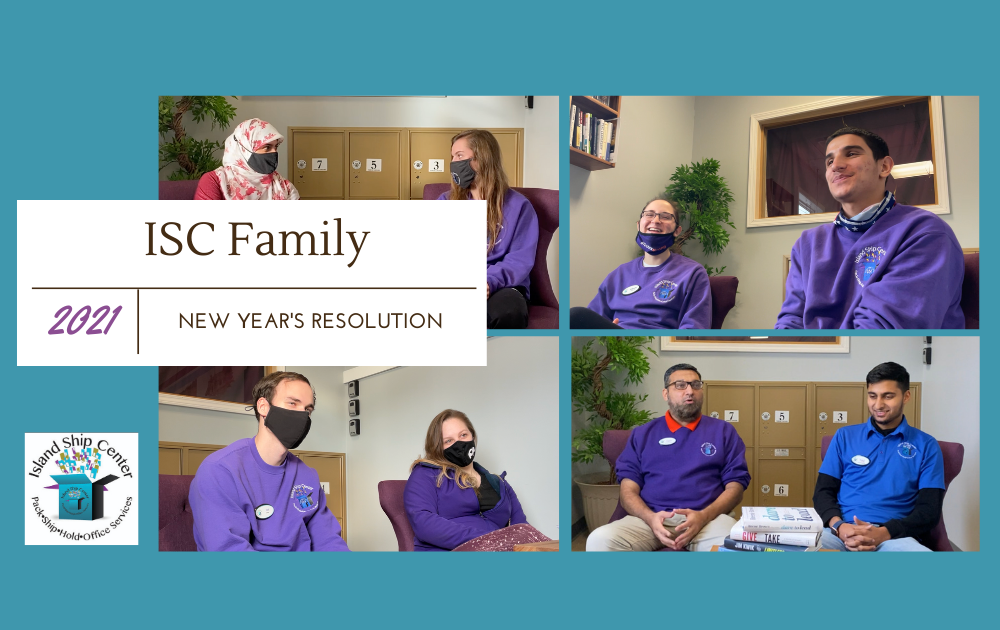 Our Team's New Year's Resolutions