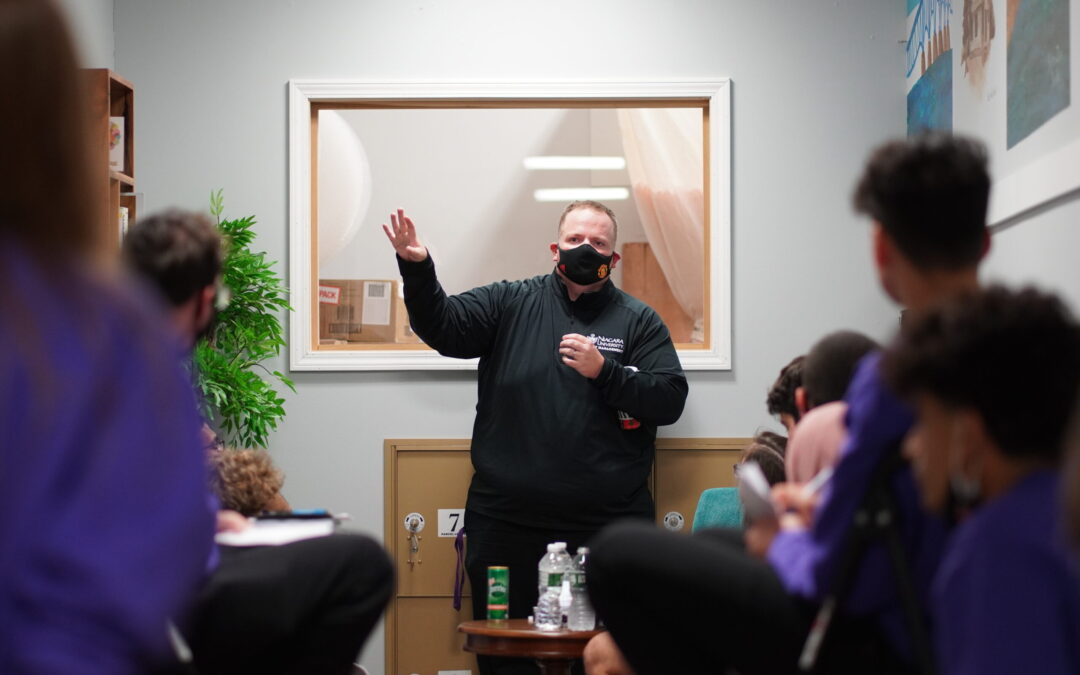 Professor Tutka Teaches Message Of Honesty, Authenticity At Island Ship Center – Guest Blog Post By Larry Austin