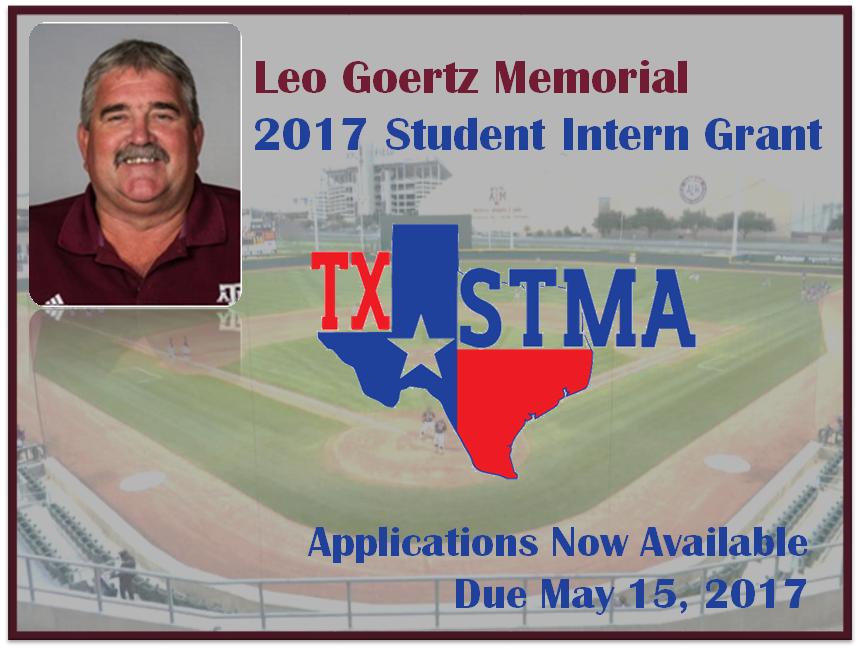2017 Leo Goertz Memorial Student Intern Grant Applications