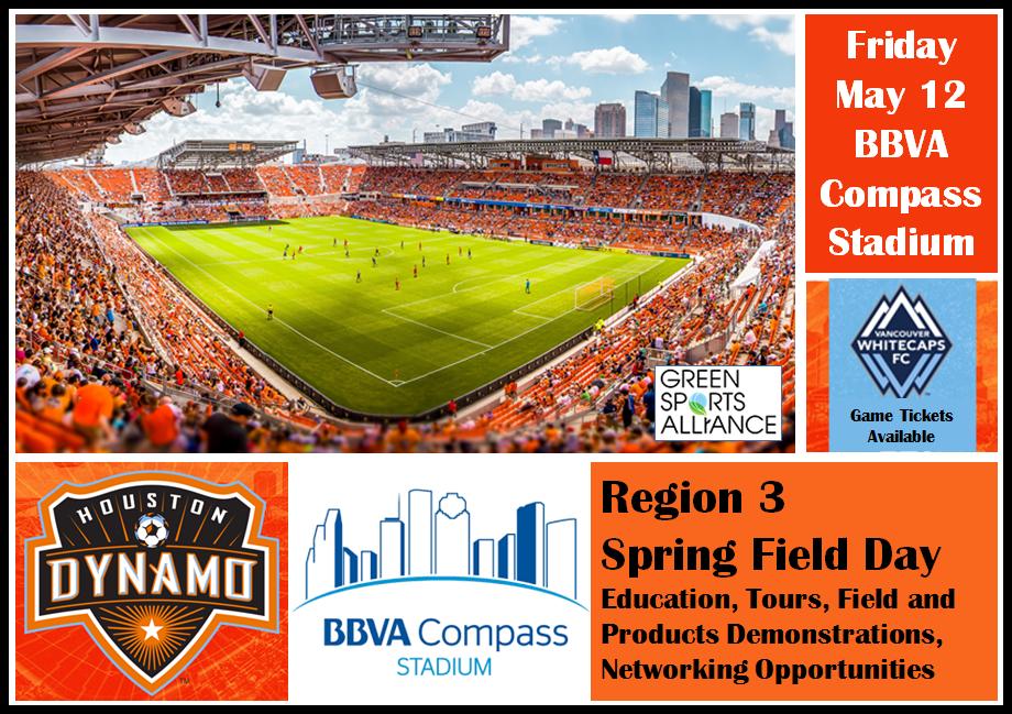 Region 3 Field Day – May 12 at BBVA Compass Stadium, Houston