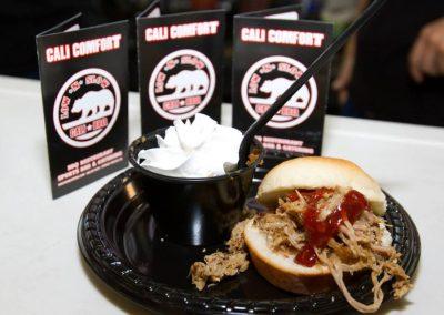 Taste of La Mesa 2015 - Cali Comfort BBQ slider