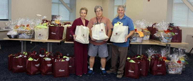 Our Home-Bound Seniors Receive Lots of Love and Gifts on December 15th