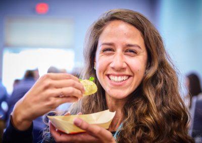 Taste of La Mesa 2018 Woman Eating
