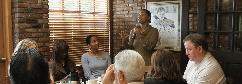 March Breakfast Meeting with City Council Member Akilah Weber is Pitch Perfect!