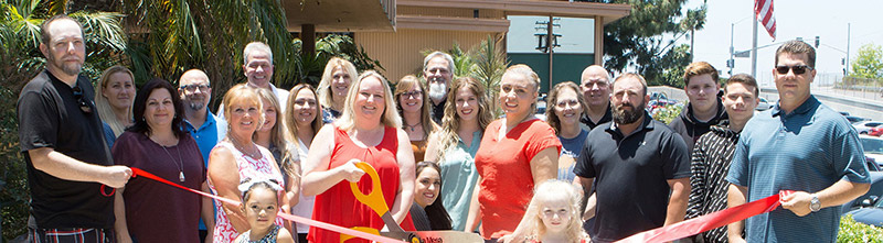 Ribbon Cutting at Amanda Hammett Insurance & Financial Services on June 15th Was a Hit!