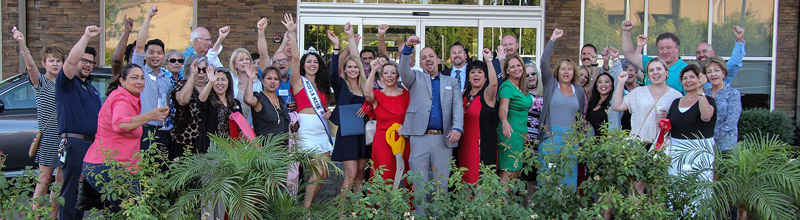 The Courtyard by Marriott San Diego El Cajon Announces the Success of the Hotel at our 1-Year Anniversary Celebration!