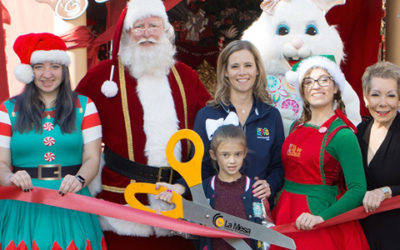 Santa Arrives at Grossmont Center Courtesy of Boffo Entertainment