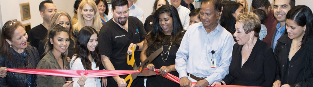"Helix Dental has a ""Standing Room Only"" Open House and Ribbon Cutting!"