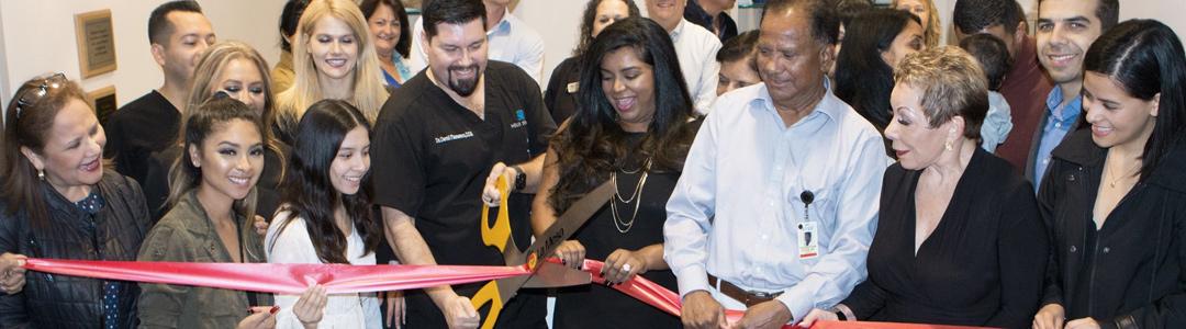 Helix Dental Ribbon Cutting
