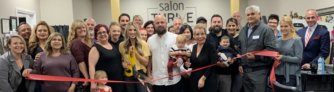 Salon Thrive Ribbon Cutting Was a True – Family Affair!