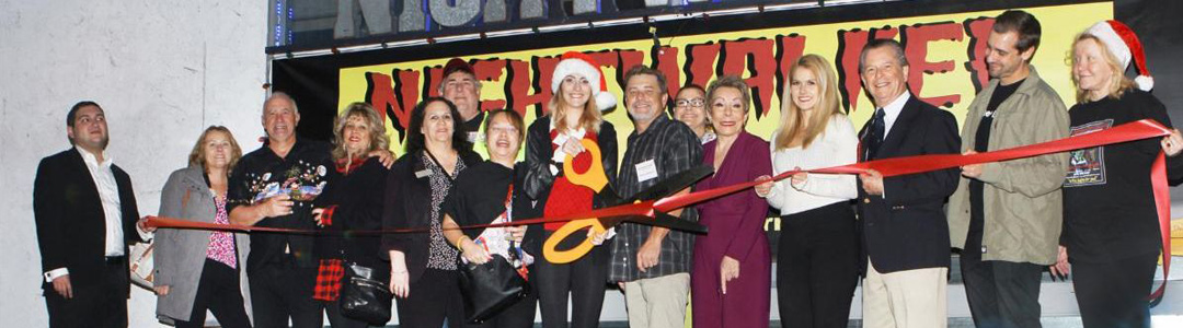 Nightwalker Caverns Escape Room Adventures Ribbon Cutting and Mixer was a Fun-Filled Evening
