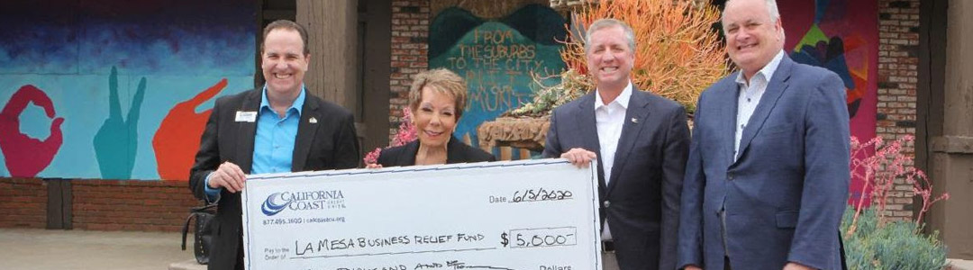 A Great Day for The La Mesa Business Disaster Recovery Fund
