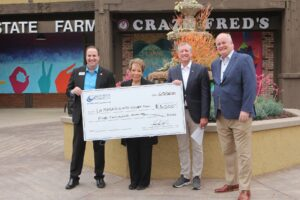 Check Presentations to the La Mesa Disaster Recovery Fund