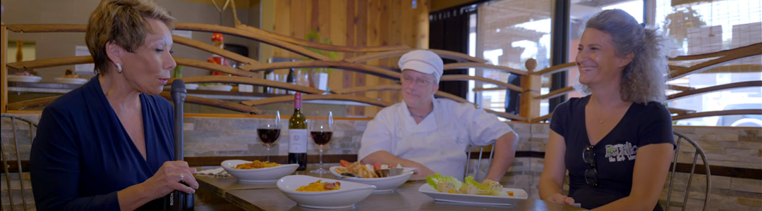 """""""La Mesa Live"""" Visits Cucina Basilico – Meet the Owners/Chefs & Staff"""