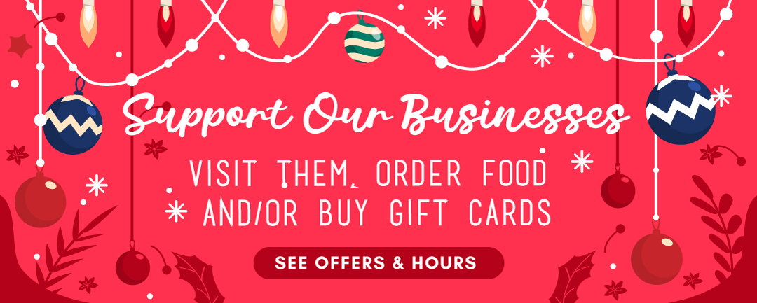 Support Our Businesses - La Mesa Chamber Members - Holidays 2020
