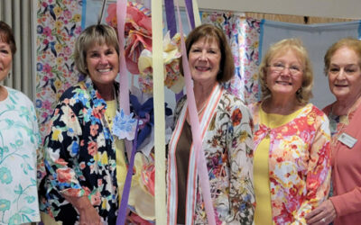 The La Mesa Woman's Club Celebrates 119 Years of Service and Collect 3,498 Diapers for Active Military Duty Junior Enlisted Families!