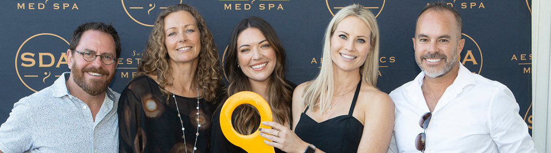 Crowd-Pleasing San Diego Aesthetics & Med Spa Open House & Ribbon Cutting was a Red Carpet Affair