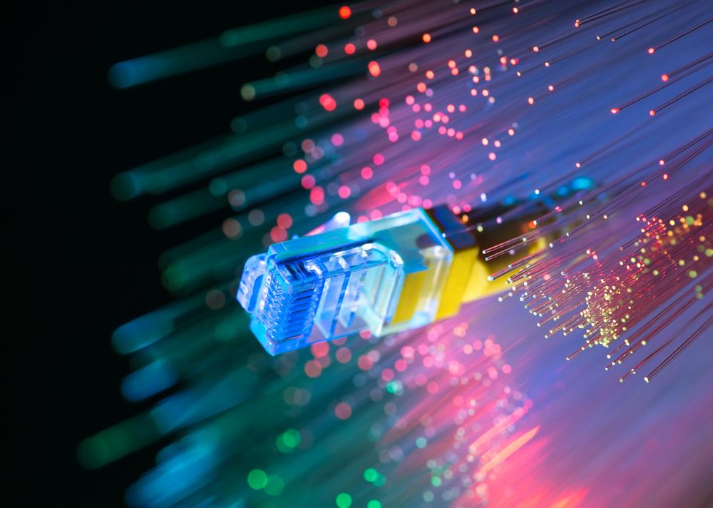 Fiber optic network cables