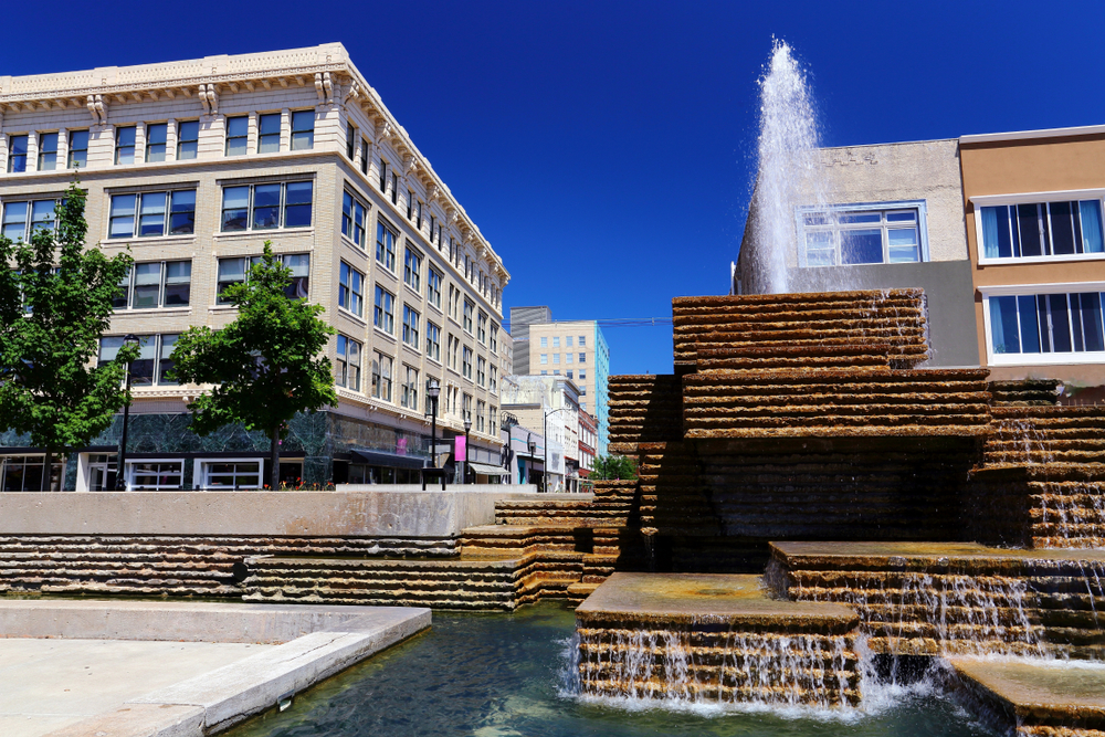Springfield Missouri Downtown Square