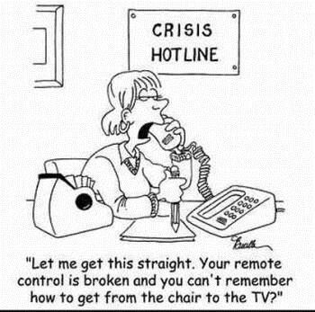 Is this your crisis?