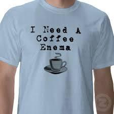 Coffee enemas for detoxing