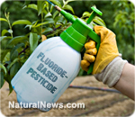 Diabetes sprayed on crops
