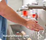 Handwashing spy cam