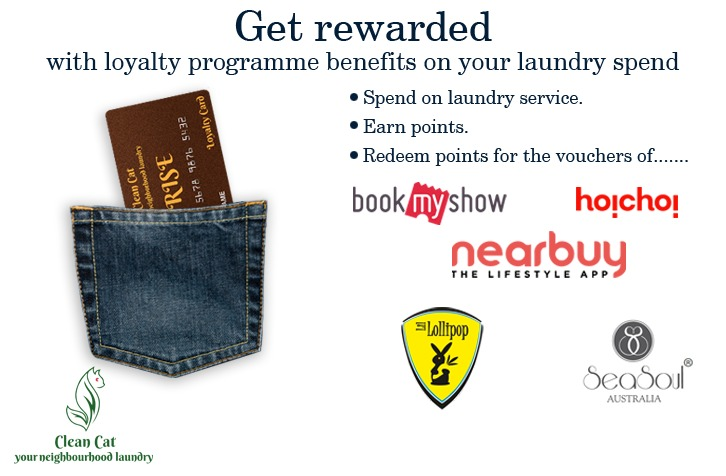 Drop your laundry & earn loyalty points – Call us at 7044431966