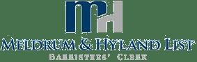 Meldrum & Hyland's List