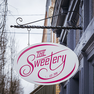 The Sweetery Sign