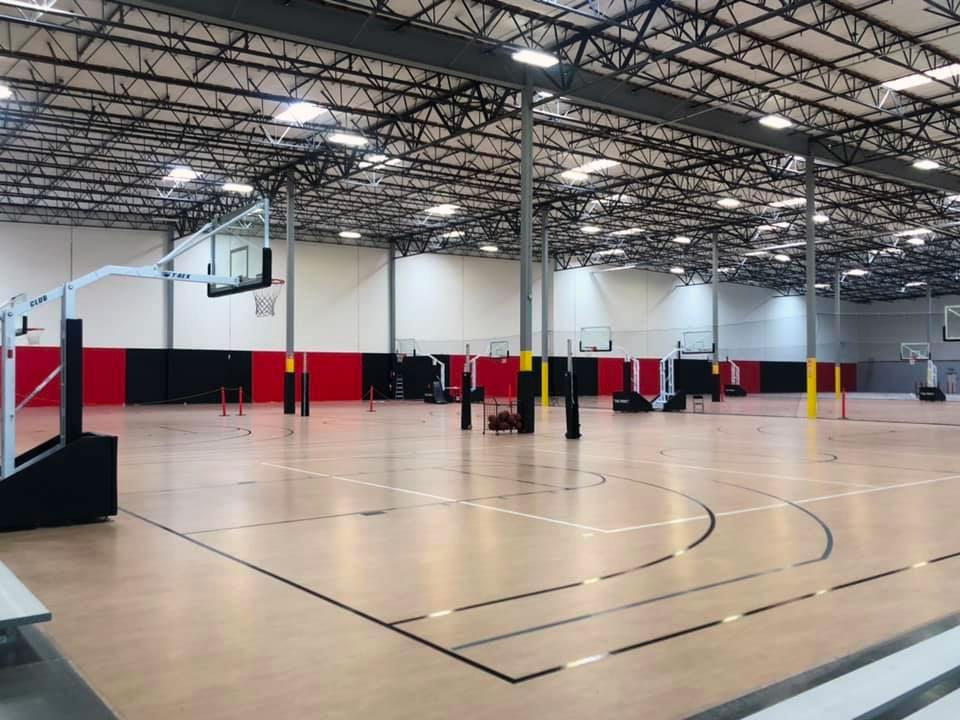 Draft Sports Complex Basketball Court
