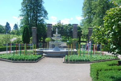 Picture of a fountain