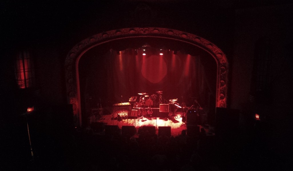 Picture of the stage in the Opera House