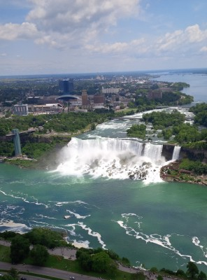 View of the American Falls